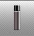 bottle sprayer for deodorant realistic vector image