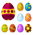 easter eggs spring colorful celebration decoration vector image vector image