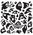 ghosts cartoons vector image