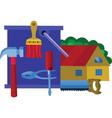 home renovation vector image vector image