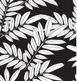 leaf seamless pattern2 vector image