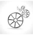 Metal Cogs vector image vector image