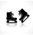 skates vector image