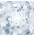 Abstract circular gray background for your design vector image