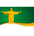 Brazil Background vector image vector image