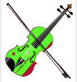 california state fiddle vector image vector image
