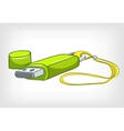 cartoons usb memory vector image