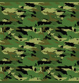 classic seamless military forest camouflage vector image vector image