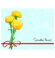 floral template design vector image vector image