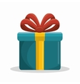 gift box packing icon vector image