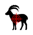 Ibex crosslines vector image