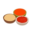 Indian spices icon isometric 3d style vector image vector image