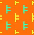 lock fasten seamless pattern vector image