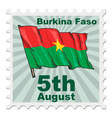 national day of Burkina Faso vector image