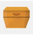 night stand icon cartoon style vector image