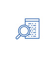 software development line icon concept software vector image vector image