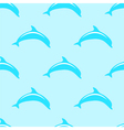 Dolphin seamless 2d pattern vector image vector image