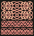 pattern lattice vector image vector image