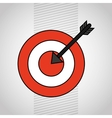 target icon design vector image vector image