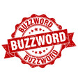 buzzword stamp sign seal vector image vector image