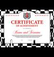 certificate achievement in chess tournament