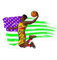 digital painting a basketball