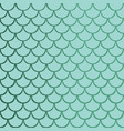 gradient blue mermaid fish scale seamless vector image vector image