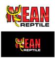 Mean Reptiles vector image vector image