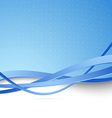 Modern blue hi-tech abstract background vector image vector image