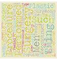 Plastic Surgery text background wordcloud concept vector image vector image