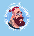 profile icon male emotion avatar hipster man vector image vector image