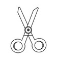 scissor for kids vector image