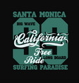 Surfing t-shirt graphic design