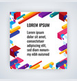 infographic background with colorful geometric vector image