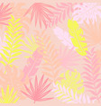 tropical modern background vector image