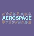 aerospace word concepts banner cosmos exploration