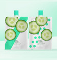 beverage skincare clay mask or body care vector image vector image