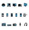 Consumer electronics icon vector image vector image