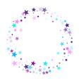 fireworks sparkles festival symbols vector image vector image