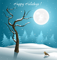 Holiday Greeting Card vector image vector image