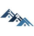 home repair and maintenance with tool symbol vector image vector image