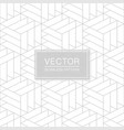 seamless geometric pattern - creative vector image vector image