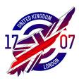 united kingdom flag on wing original idea
