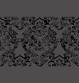 vintage baroque victorian pattern floral vector image vector image