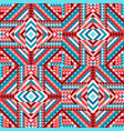 ethnic tribal seamless pattern aztec style vector image vector image
