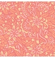 flowering garden seamless decorative pattern vector image vector image