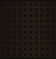 golden vintage seamless pattern vector image vector image