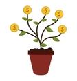 money plant icon vector image