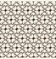 monochrome ink seamless pattern with doodle petals vector image vector image
