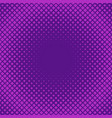 retro halftone square pattern background vector image vector image